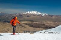 Carlos Guerrero - Aldos Bruder unterstütze uns bei dem Projekt und hat dabei sein skifahrerisches Können trainiert...